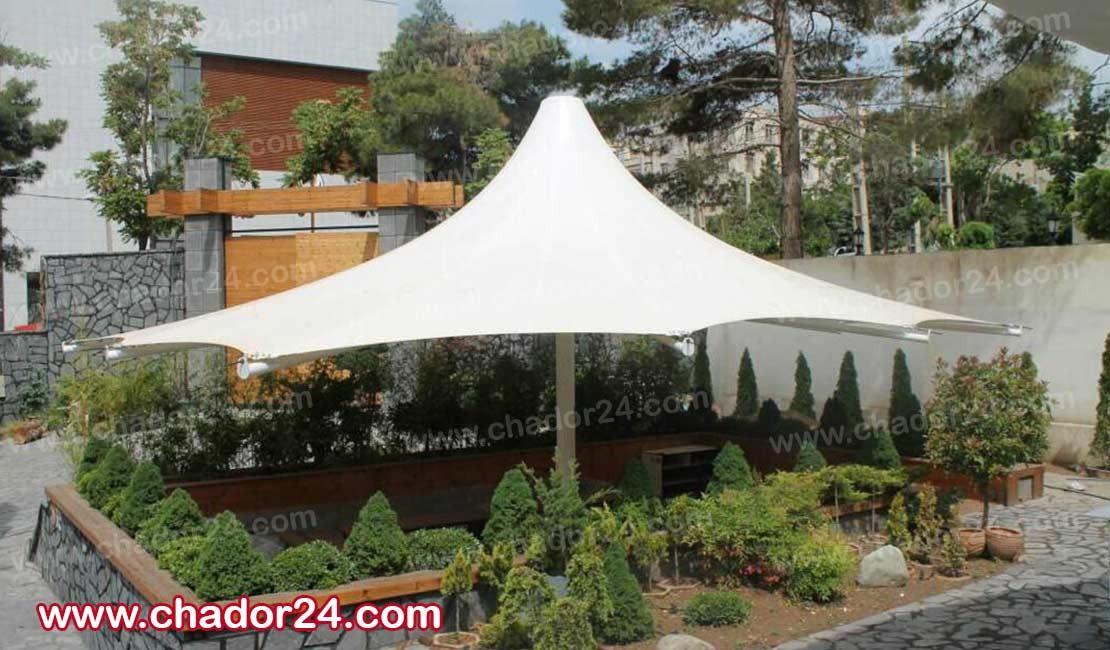 مزایای سازه چادری در فضای سبز