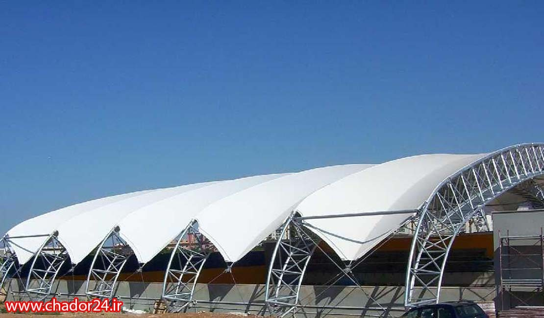 what-is-the-tensile-structure-of-an-arch-and-what-are-its-features